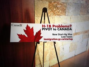 Canada's new immigration-centric pitch to Silicon Valley's many foreign-born entrepreneurs.