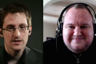 A match made in exile: Edward Snowden and Kim Dotcom open up to the New Yorker