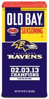 Old Bay unveils commemorative Ravens Super Bowl can