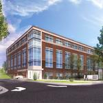 City approves plan to replace modernist office building on Glenwood with new structure