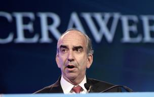 John Hess, chairman and chief executive officer of Hess Corp., shown in this 2011 file photo, unveiled a new direction for the energy company on Monday.