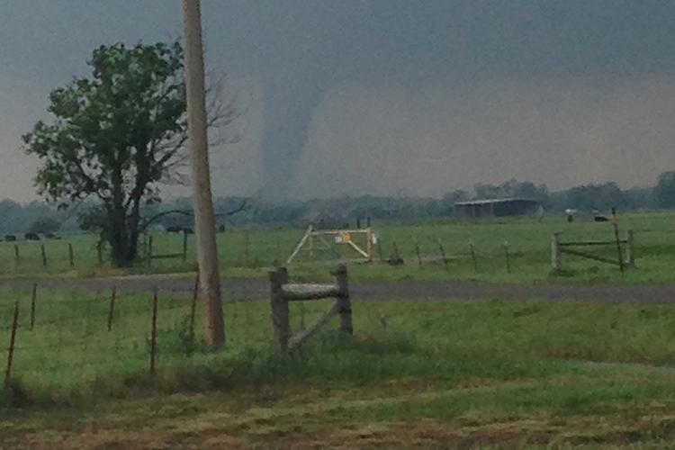 The tornado that swept through parts of Oklahoma last week left 24 dead.