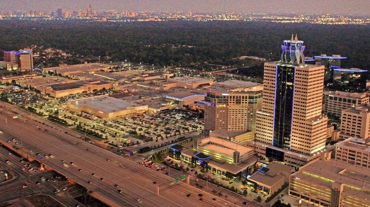 Memorial City contains 7.6 million square feet of developed real estate across 265 acres.