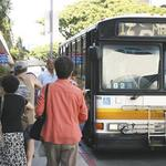 Express bus service transports up to 600 workers into Waikiki