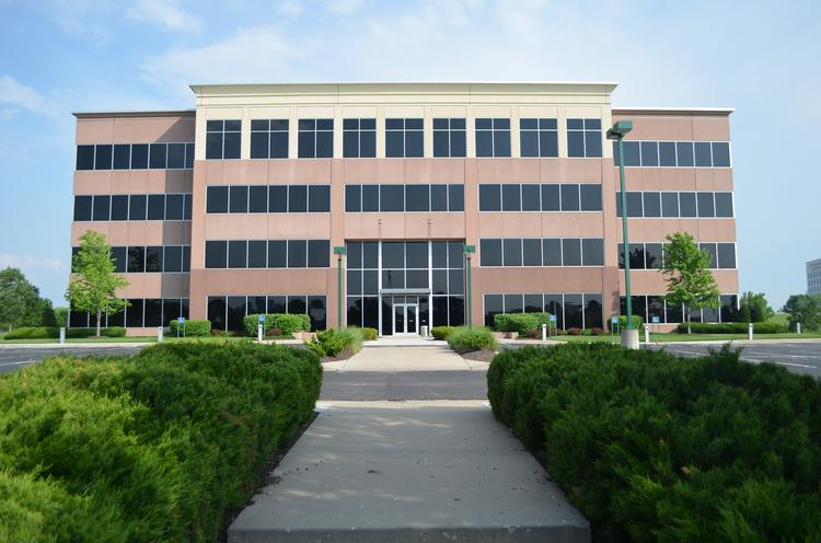 The Landmark Office building near Interstate 70 and Little Blue Parkway is under contract to the Government Employees Health Association Inc.