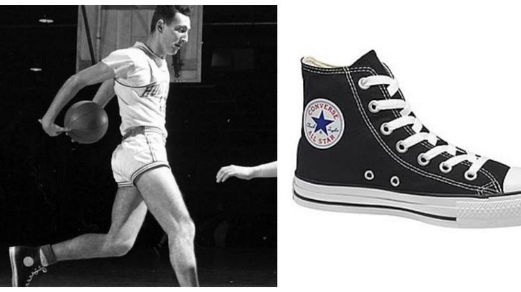 Nike sues over iconic Converse sneakers, but who exactly is Chuck Taylor? - Triangle Business ...