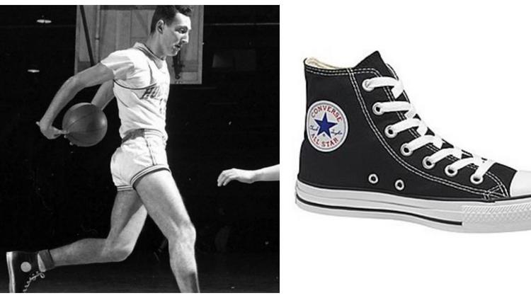 "7058d77c67af4d Charles Hollis aka ""Chuck"" Taylor is a former basketball star who went to  work"