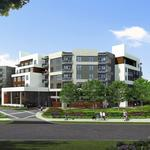 New midrise apartment project underway near CityCentre