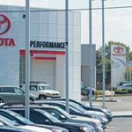 U.S. car sales driving 'auto mile' expansion