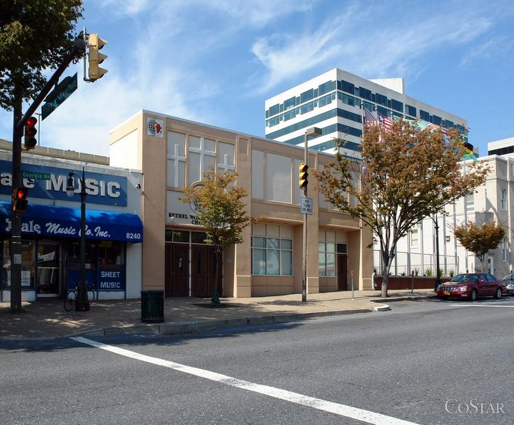 The Washington Property Co. has paid $8.2 million for a development site on Georgia Avenue in Silver Spring, where it is weighing options including a hotel, office or residential project.