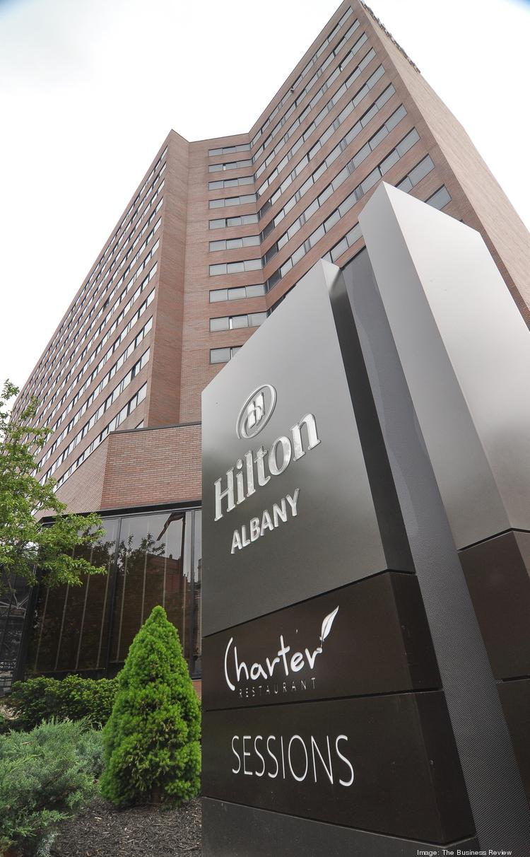 A $14 million renovation of the Hilton Albany in downtown Albany, NY was among several major investments in the region's hotel industry in 2013.