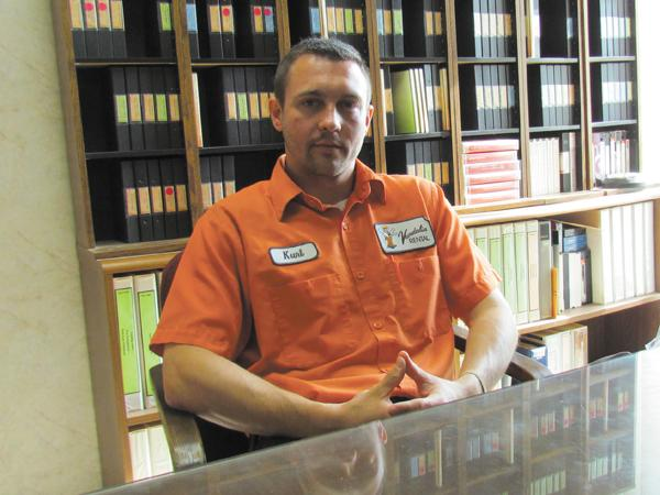 Kurt Barney is owner of Vandalia Rental, which is building a new 14,000-square-foot maintenance facility down the street from its current 30,000-square-foot rental center.