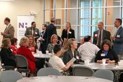 The crowd at The Business Journal's State of Davidson discussion Tuesday morning.