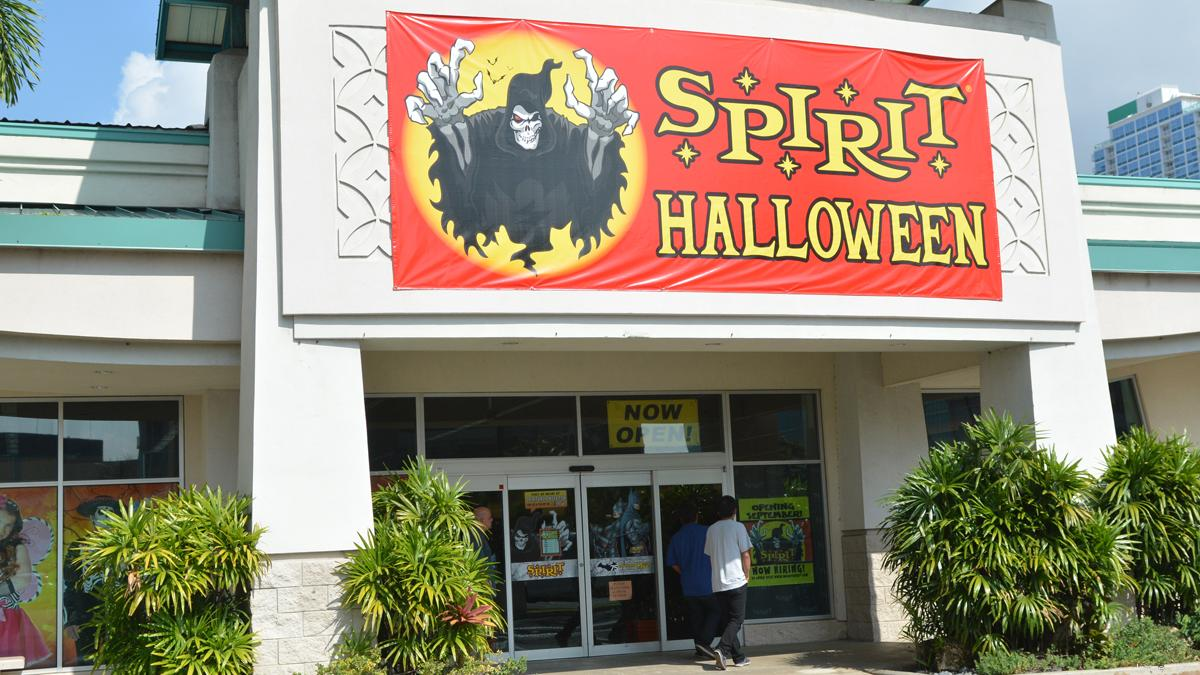 Spirit Halloween rings up creepy holiday sales with four Hawaii ...