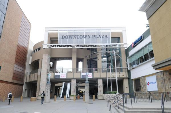 The plan to build a new downtown arena in Sacramento will have a sizable union presence in its workforce, heading off a potential complication for the Sacramento Kings ownership and the city less than a year before the project is supposed to get underway. Mayor Kevin Johnson said at a gathering announcing the deal that the demolition of the Downtown Plaza, seen here, would begin next August, and construction would begin in the fall of 2014.