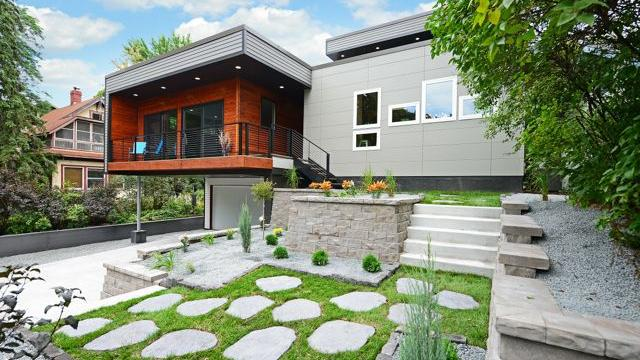 Dream Homes: Green contemporary built new in Linden Hills for ... - ^