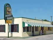 The most recent Goody Goody location, which closed in 2005, on Florida Avenue in Tampa. The building has been demolished.