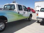 Halliburton is rolling 100 compressed natural gas vehicles into its field operations nationwide, including 19 vehicles in its Colorado fleet. The Colorado trucks will be based in Fort Lupton.