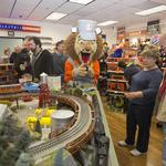 Did you hear the Lionel toy train whistle Monday morning in Concord? (PHOTOS)