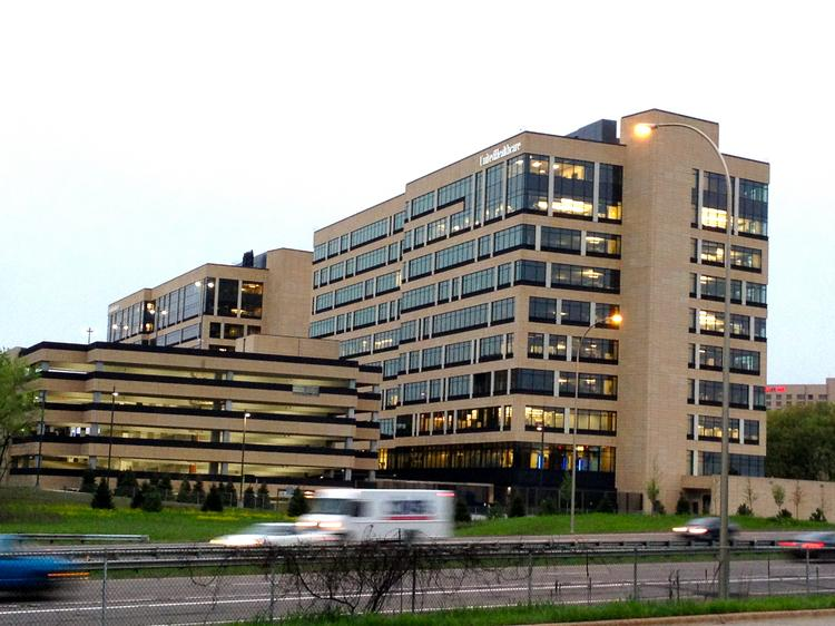 UnitedHealth is nearing a deal to sell these two buildings next to its corporate headquarters as a sale-leaseback transaction with Mesirow Financial.