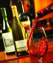 The restaurant offers 52 wines by the glass and has more than 100 wine choices by bottle.