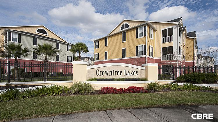 The Crowntree Lakes Apartments In Lee Vista Area Of Orlando Sold As Part A