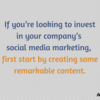 How to create successful social media content