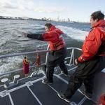Admirals players get familiar with open water with Coast Guard's help: Slideshow