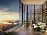 Millennium Tower's 13,000-square-foot grand penthouse includes a 2,000-square-foot outdoor terrace.