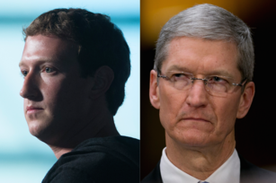 Facebook and Apple CEOs engage China in two-front war games