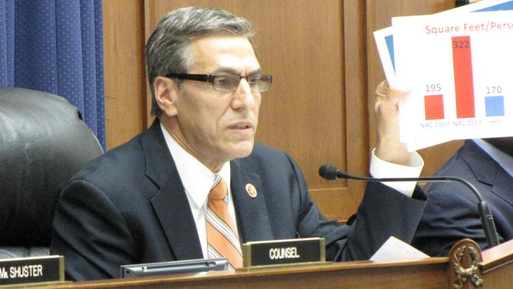 A House subcommittee chaired by Rep. Lou Barletta, R-Pa., will meet July 15 to explore ways for the federal government to better manage its real estate in light of a soft leasing market.