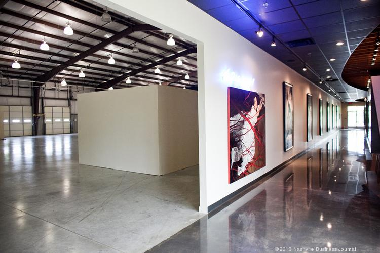 OZ is a contemporary art space in West Nashville that also hosts special events.