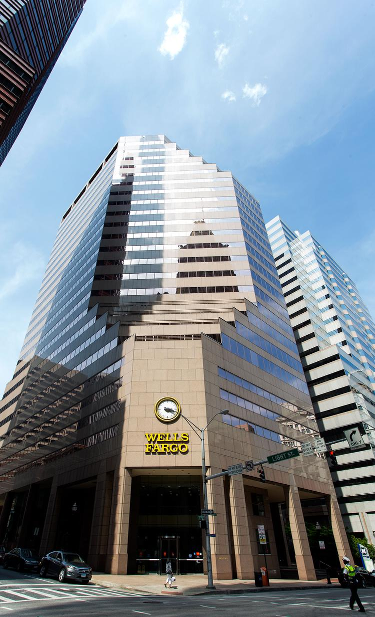 Wells Fargo has renewed a deal for 95,000 square feet at 7 St. Paul St.