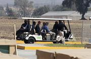Golf cart rentals All those important people with walkie talkies whipping around the new Levi's Stadium will need transportation. Expect any company with a fleet of four-wheelers to do a good business in Santa Clara in 2016.
