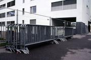 Fence rental companies How are you going to herd nearly 70,000 football fans throughout the city to their tailgating parties, and then off into the stadium for the big game? With plenty of fencing. These companies will help with makeshift corrals around the stadium for foot and car traffic.
