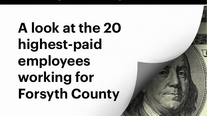 Who earns how much in Forsyth County? A look at salaries