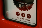 Ken Roberts model gas station reminds us that there was a time when gas was affordable.