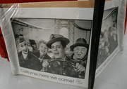 Ken Roberts' collection is comprised of an eclectic mix of memorabilia.