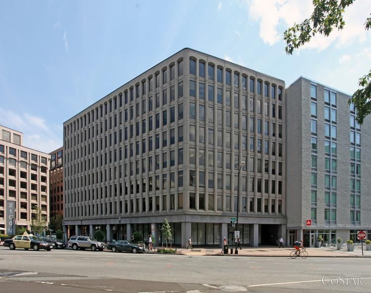 Liberty Property Trust has acquired 2100 M St. NW for $133.5 million from Hines.