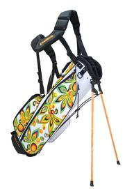 Diners at the Loudmouth Grill may see memorabilia like the Loudmouth Golf bag by Molhimawk in the restaurant in Orlando.
