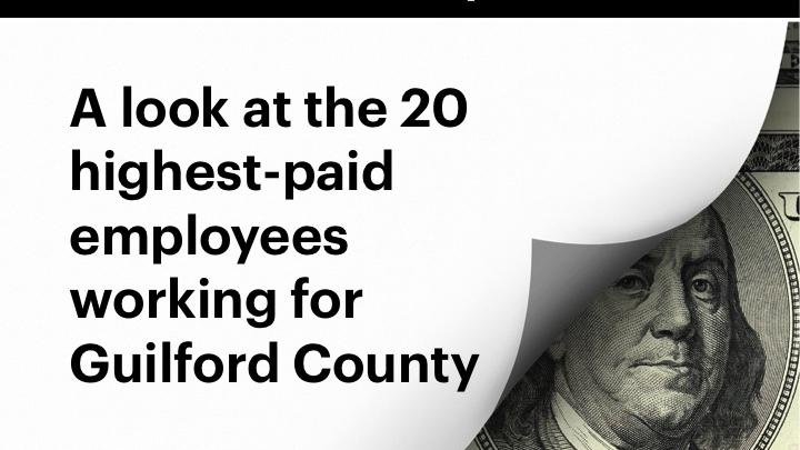Who earns how much in Guilford County? A look at salaries
