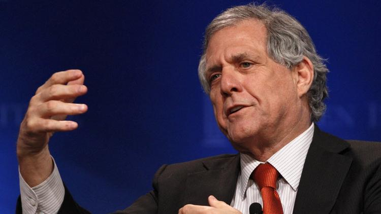 CBS Corp. CEO Leslie Moonves.