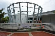 The exterior renovation of the South Florida Science Center and Aquarium. The center is scheduled to reveal its new look to the public on June 7.