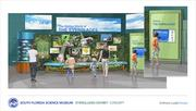 A rendering of the Hidden World of the Everglades exhibit.