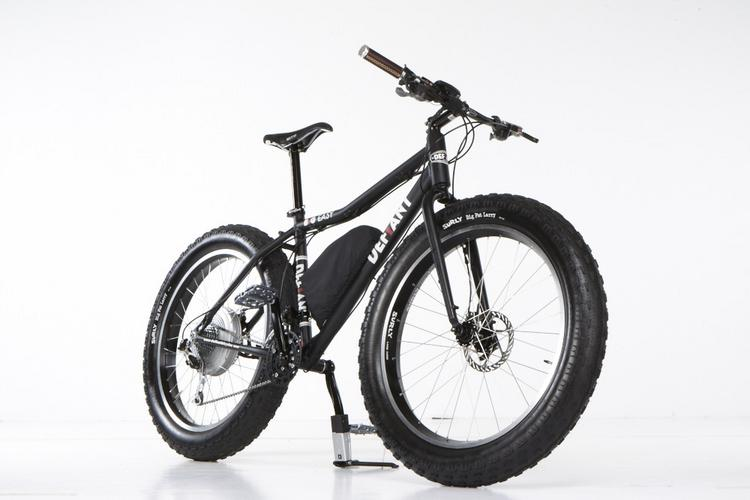 Defiant Bicycles use tires from Bloomington bike-maker Surly, their electric motors can do 20 mph.