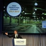 Manufacturing to be just a part of Alevo's business model