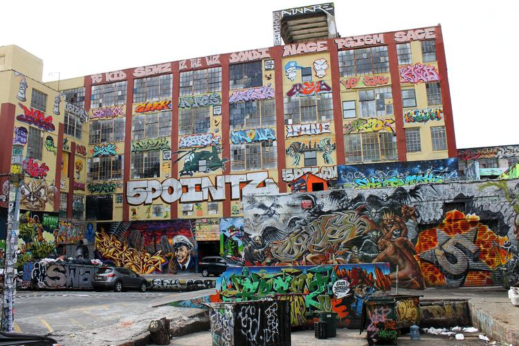 5Pointz, in Long Island City, sits at the proposed site for a new residential tower development.