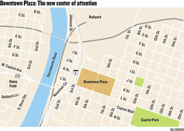 Downtown Plaza: The new center of attention