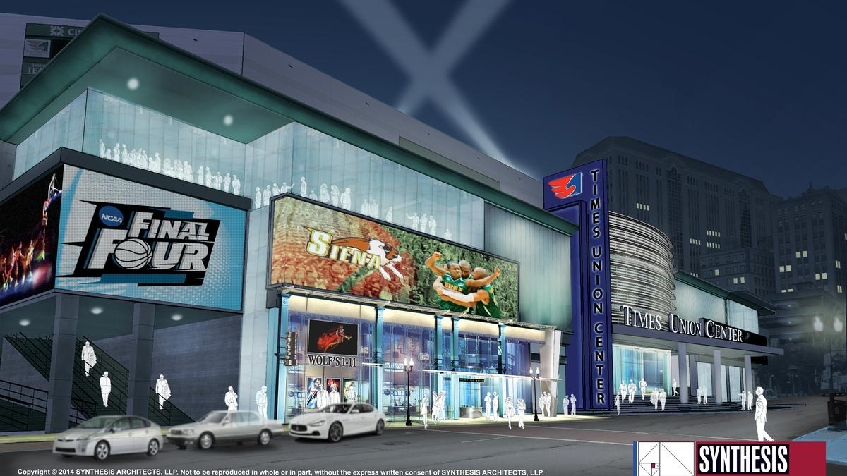 Times Union Center Seeking Bidders For 16 Million Atrium