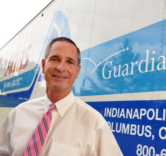 Jay Fuson, owner of  Guardian Relocations, says his firm will be able to serve the Mid-South with its expansion into Memphis
